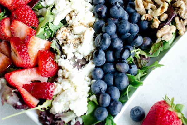 Red, White, and Blue Salad Recipe