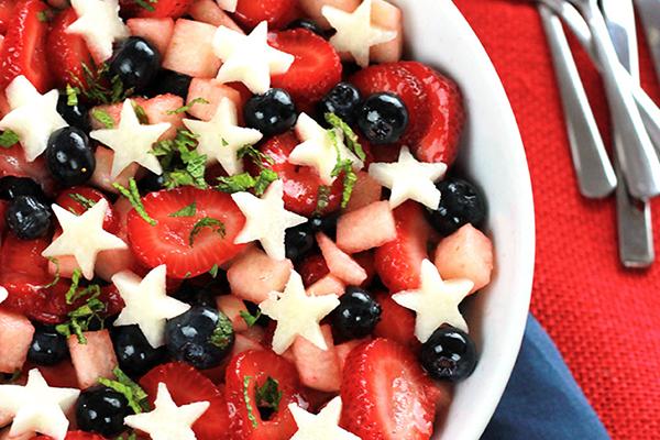 Strawberry Blueberry Jicama Salad Recipe