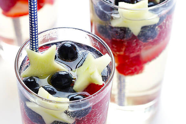 Sparkling Red, White, and Blue Sangria Recipe