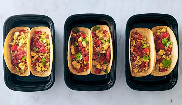 Vegan Meal Prep - Breakfast Tacos