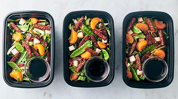 Vegan Meal Prep - Bok choy salad
