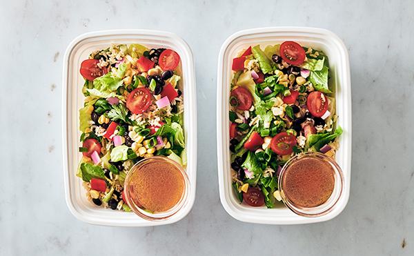 Vegan Meal Prep - Southwestern salad