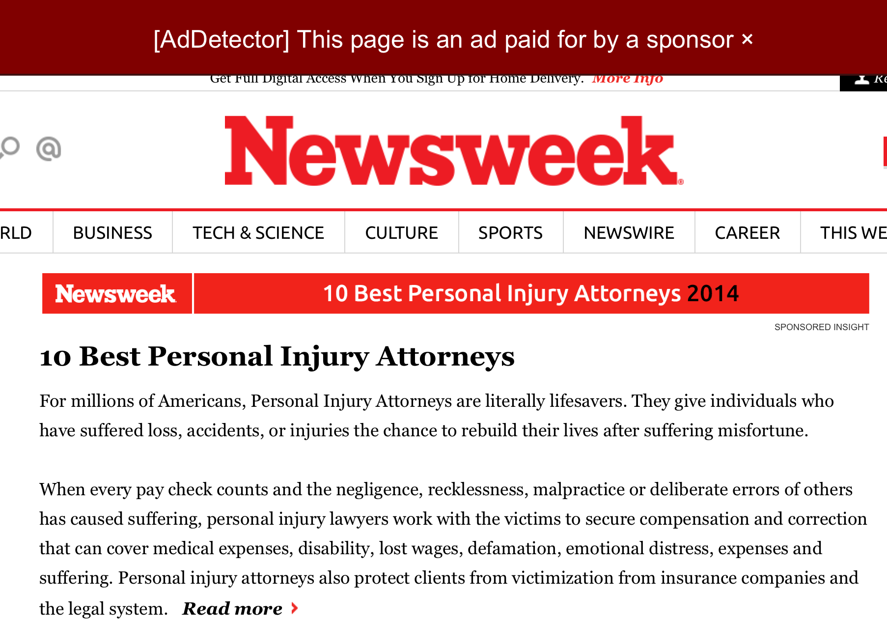 5 Major Publishers React to AdDetector, the Plug-In That