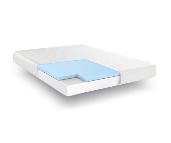 """Hampton and Rhodes 8"""" Medium Firm Gel Memory Foam Mattress - dorm room ideas dorm room decor room essentials college packing checklist what to bring to college college dorm check list dorm bed things you need for college"""