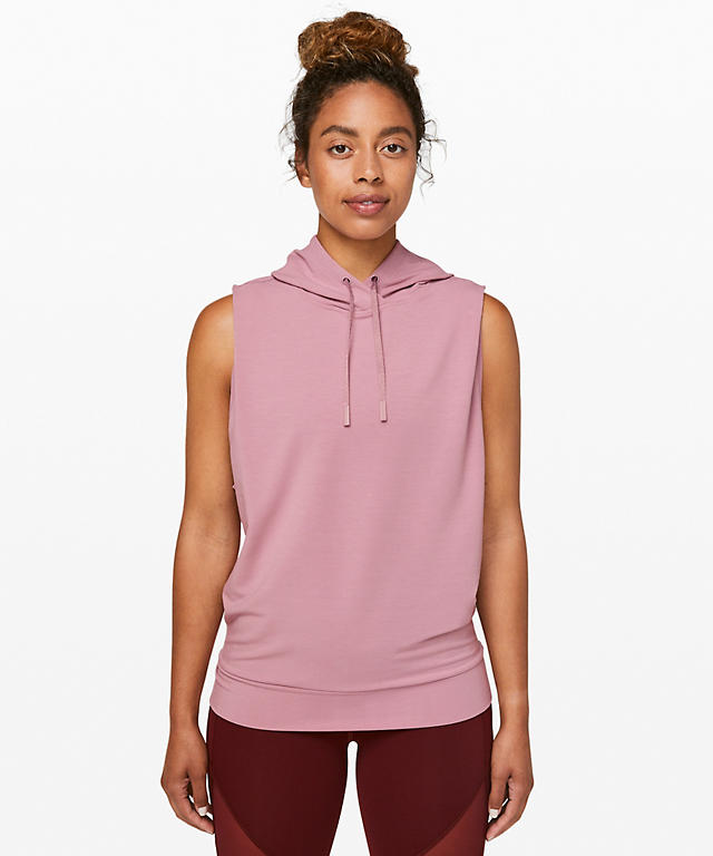 sleeveless hoodie fall workout clothes