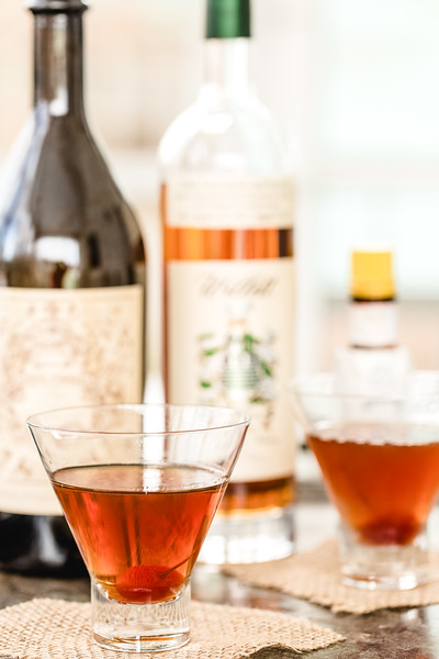 Maple Manhattan fall cocktail