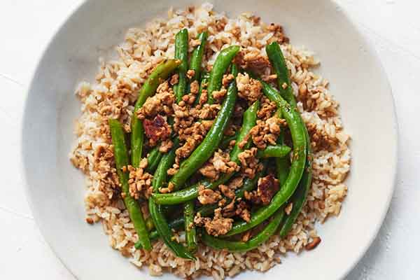 Ground Turkey with Rice and Green Beans Meal Prep