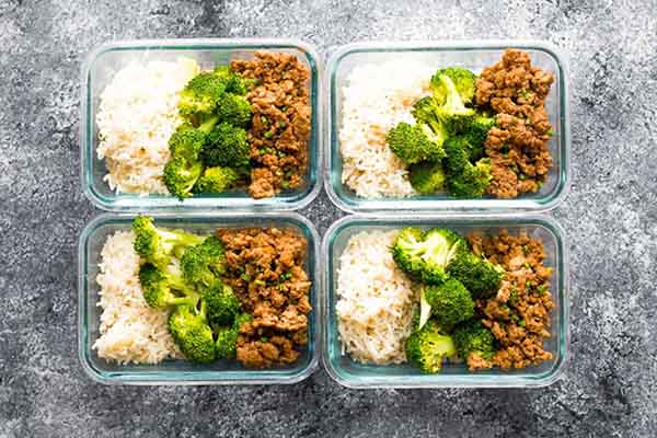 Ground Turkey with Broccoli Meal Prep