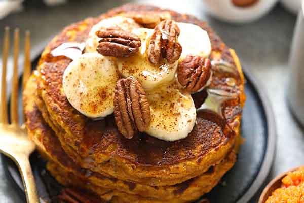 Paleo Pumpkin Pancakes Meal Prep