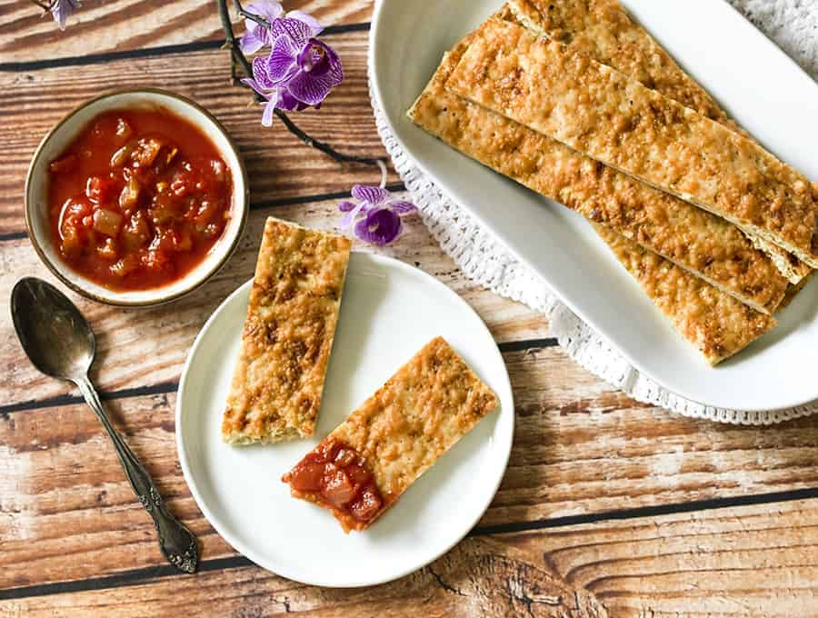 cauliflower recipes- breadsticks