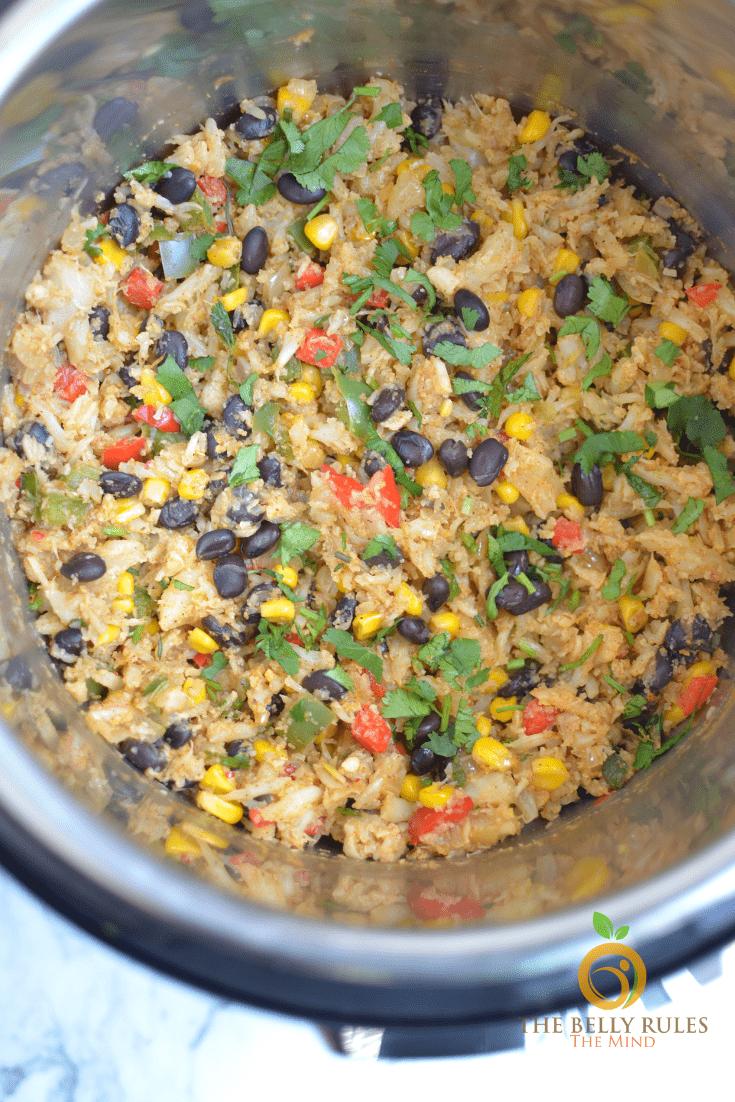 cauliflower recipes- mexican bowl