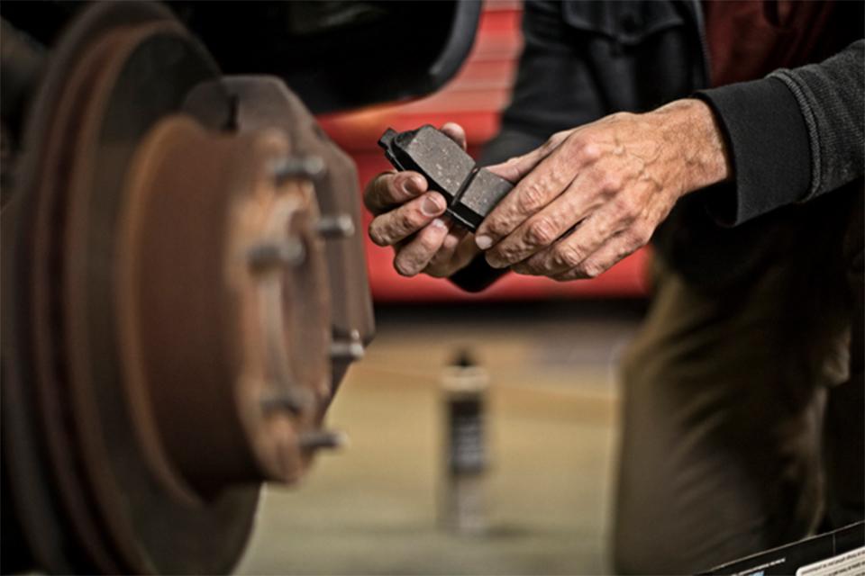 replacement brake pad