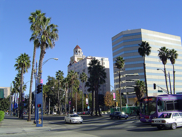 Downtown Long Beach. (Courtesy Of Paul)