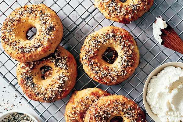 Low-Carb Everything Bagels