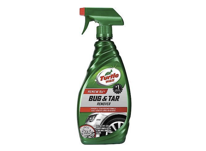 Turtle Wax bug and tar remover