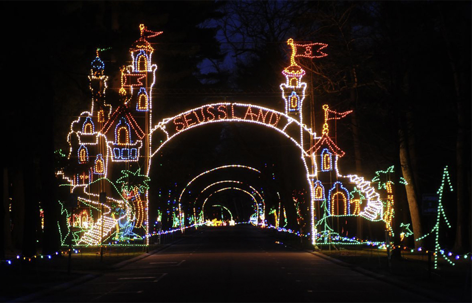 Suessland light display