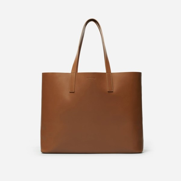 Everlane The Market Tote in Cognac