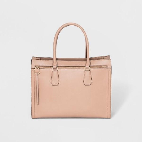 Target Ring Work Tote Handbag in Pink