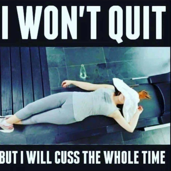 working-out-from-home memes - cursing meme