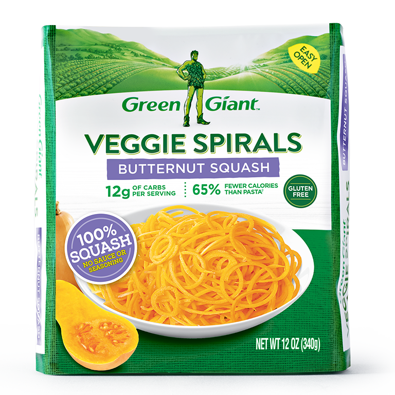 best frozen veggies -butternut squash noodles