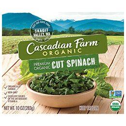 best frozen veggies - spinach