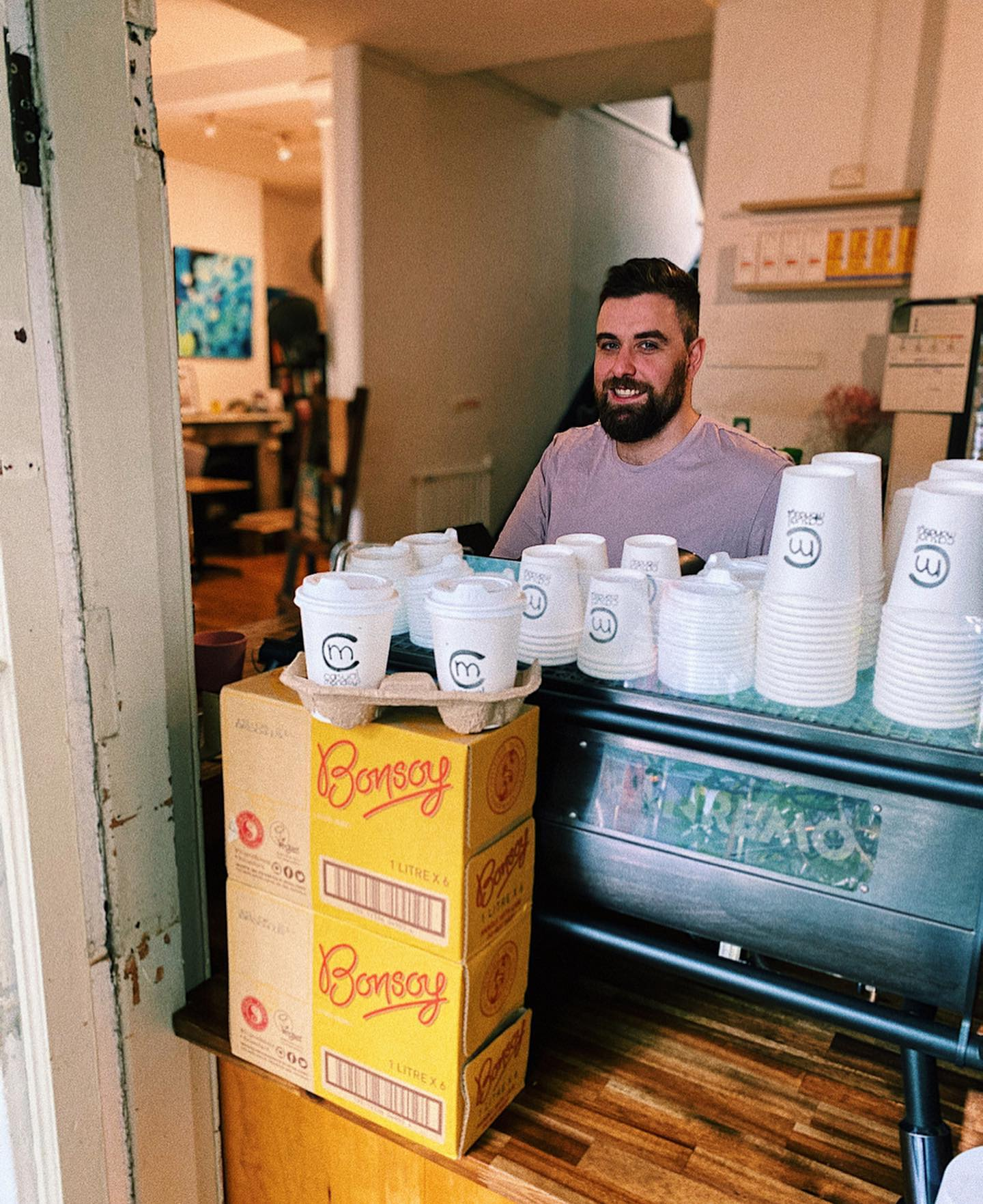 Local cafe 'Casual Mondays' in Australia has adopted HERE WeGo Deliver software