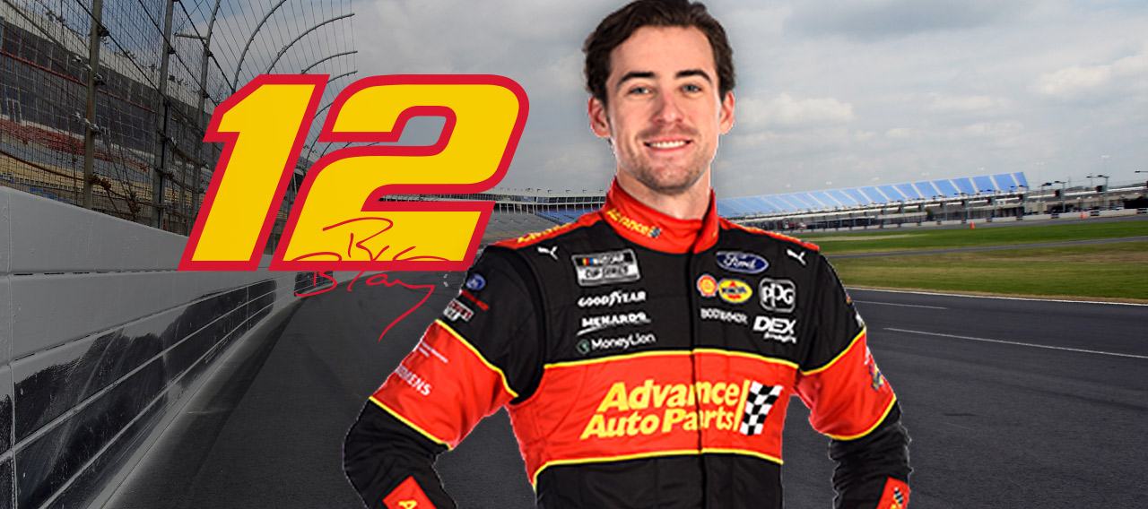 Ryan Blaney To Race Advance 12 Car Advance Auto Parts