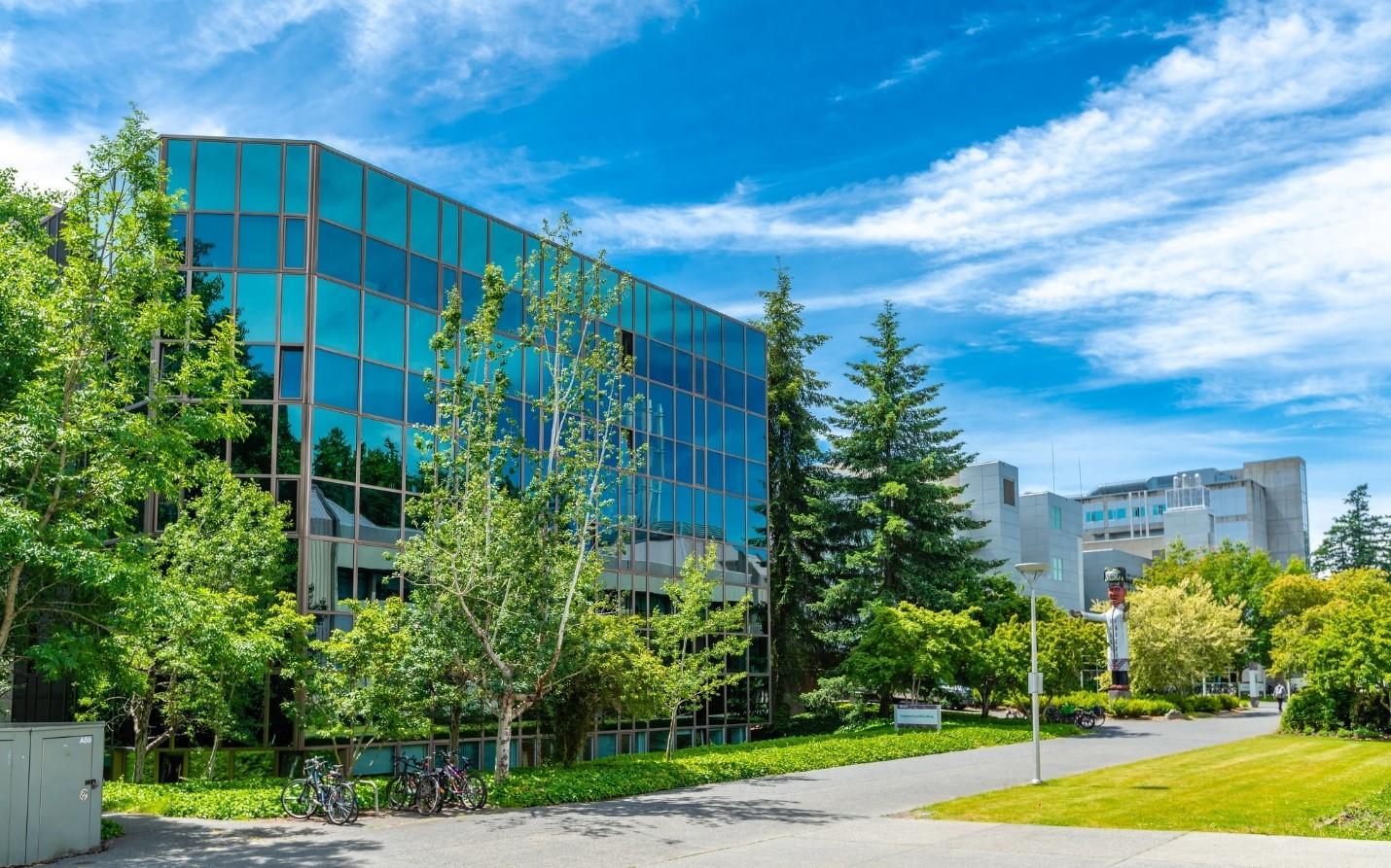 The University of Victoria engineering buildings