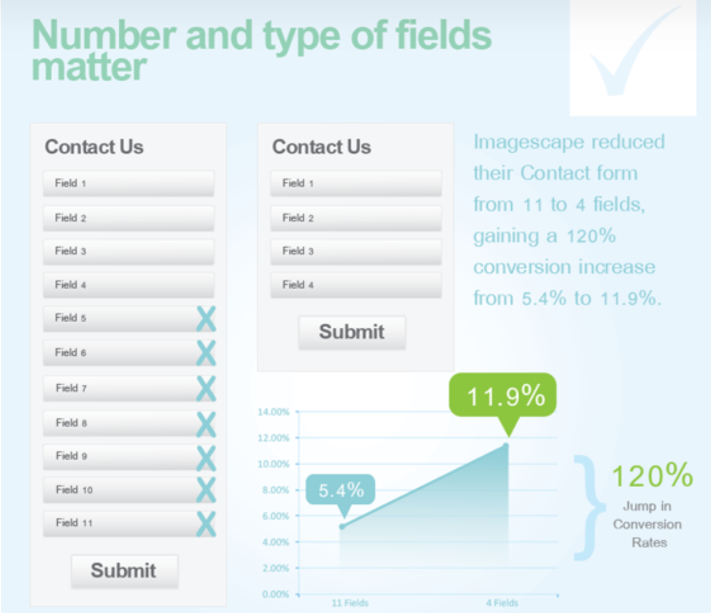 Unbounce form fields