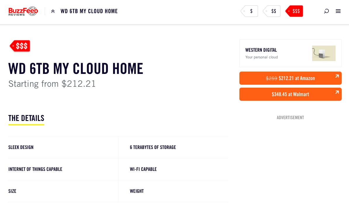 Western Digital buzzfeed affiliate marketing example