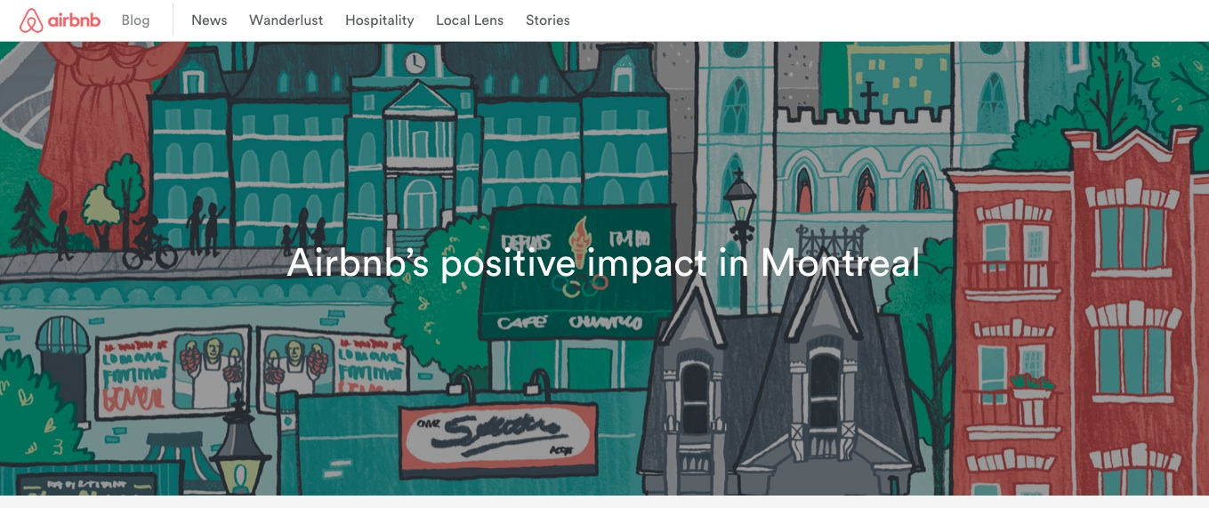 Como airbnb est usando marketing de conte do para for Airbnb fez