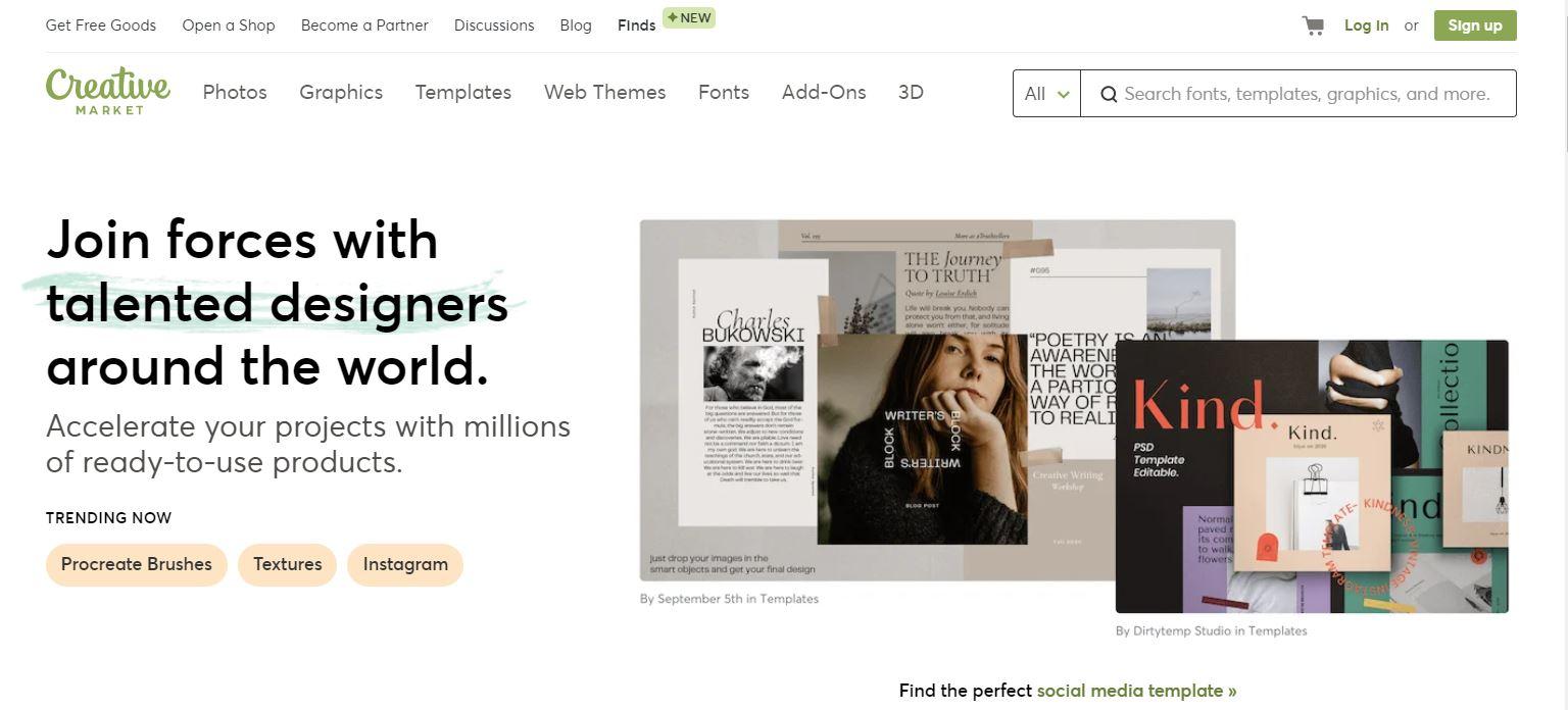 Creative Market affiliate
