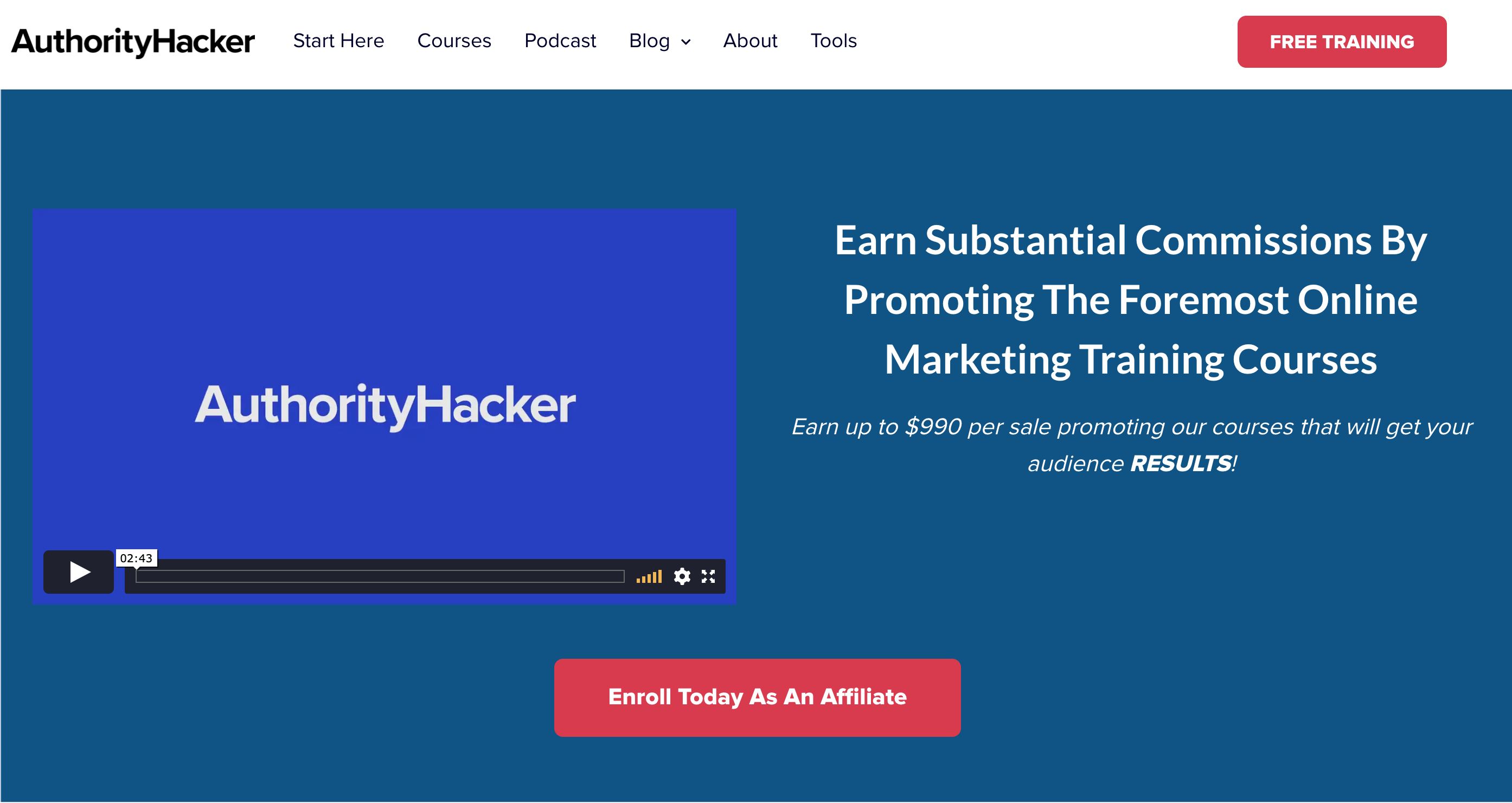 AuthorityHacker - affiliate program
