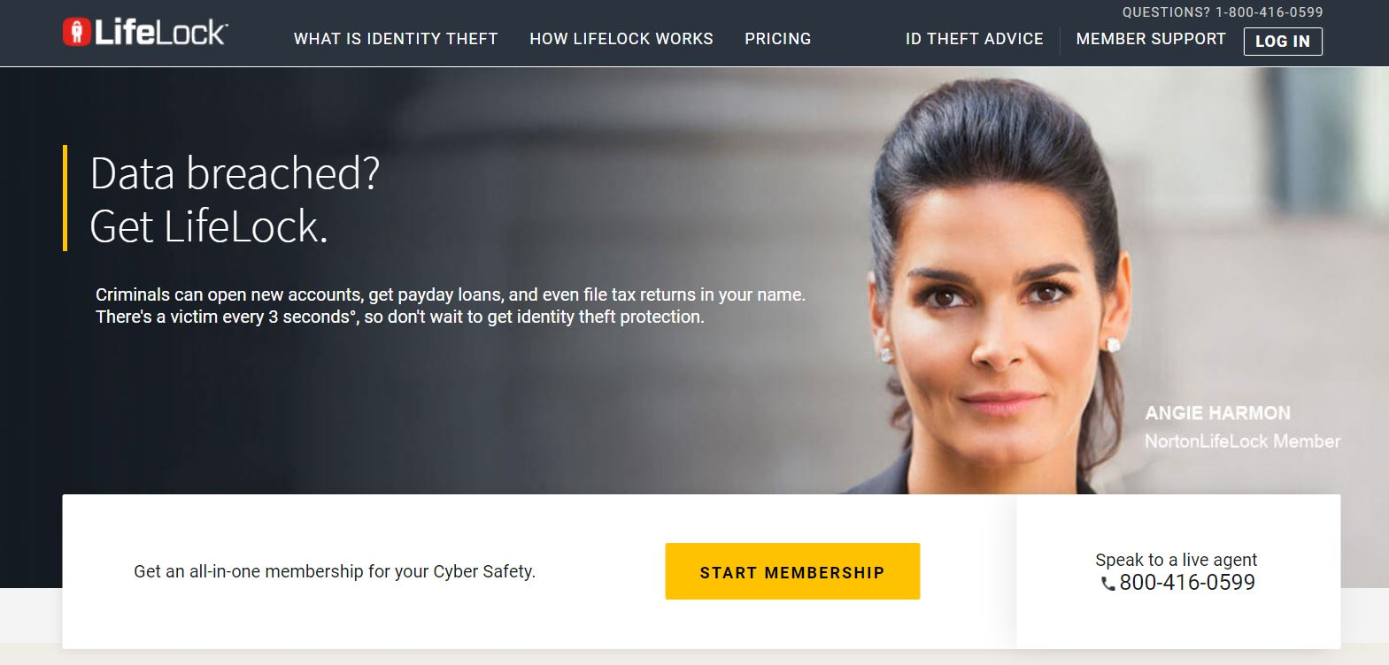 lifelock - financial products
