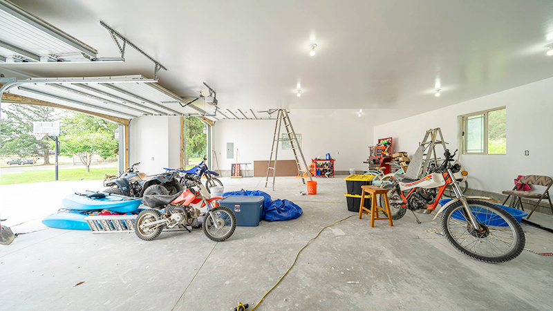 before the garage makeover