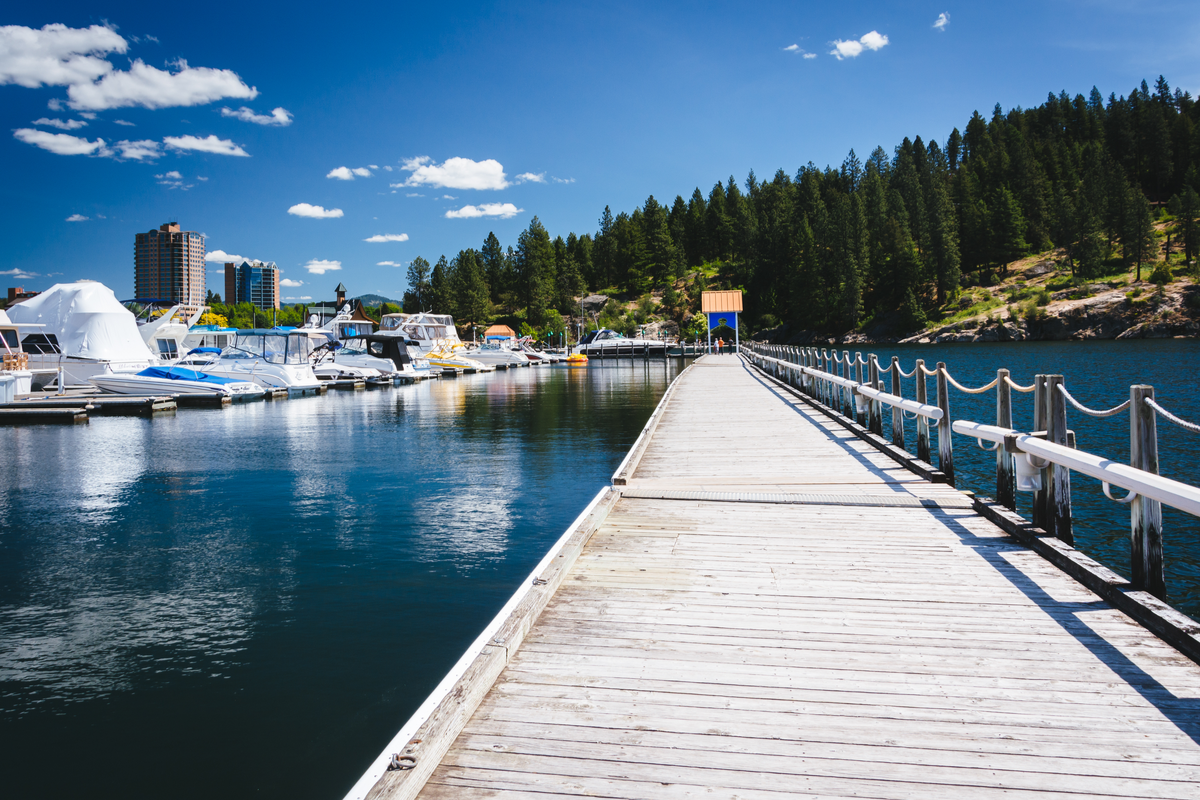 Coeur d'Alene, Idaho, one of the best places to live in idaho