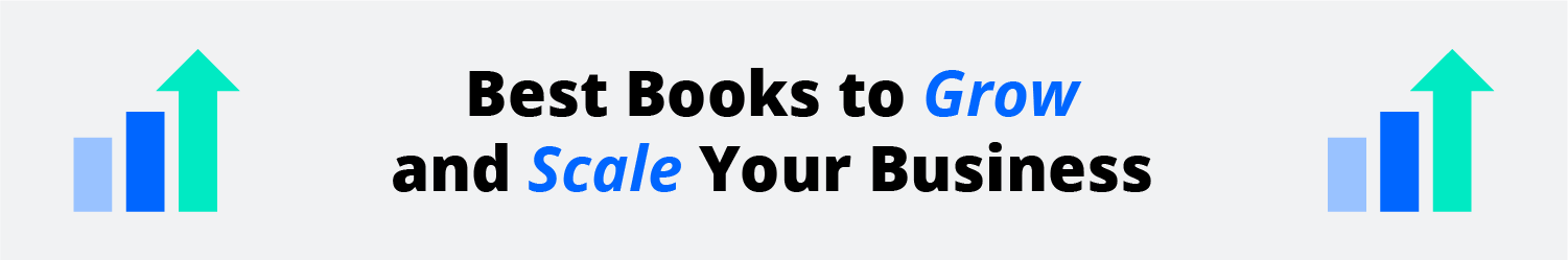best books to grow your business info graphic