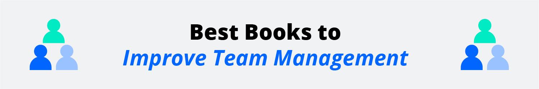 books to improve team management inforgraphic