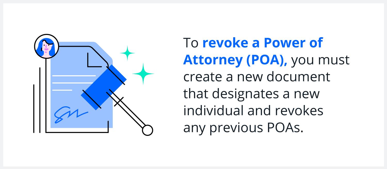 revoke power of attorney infographic