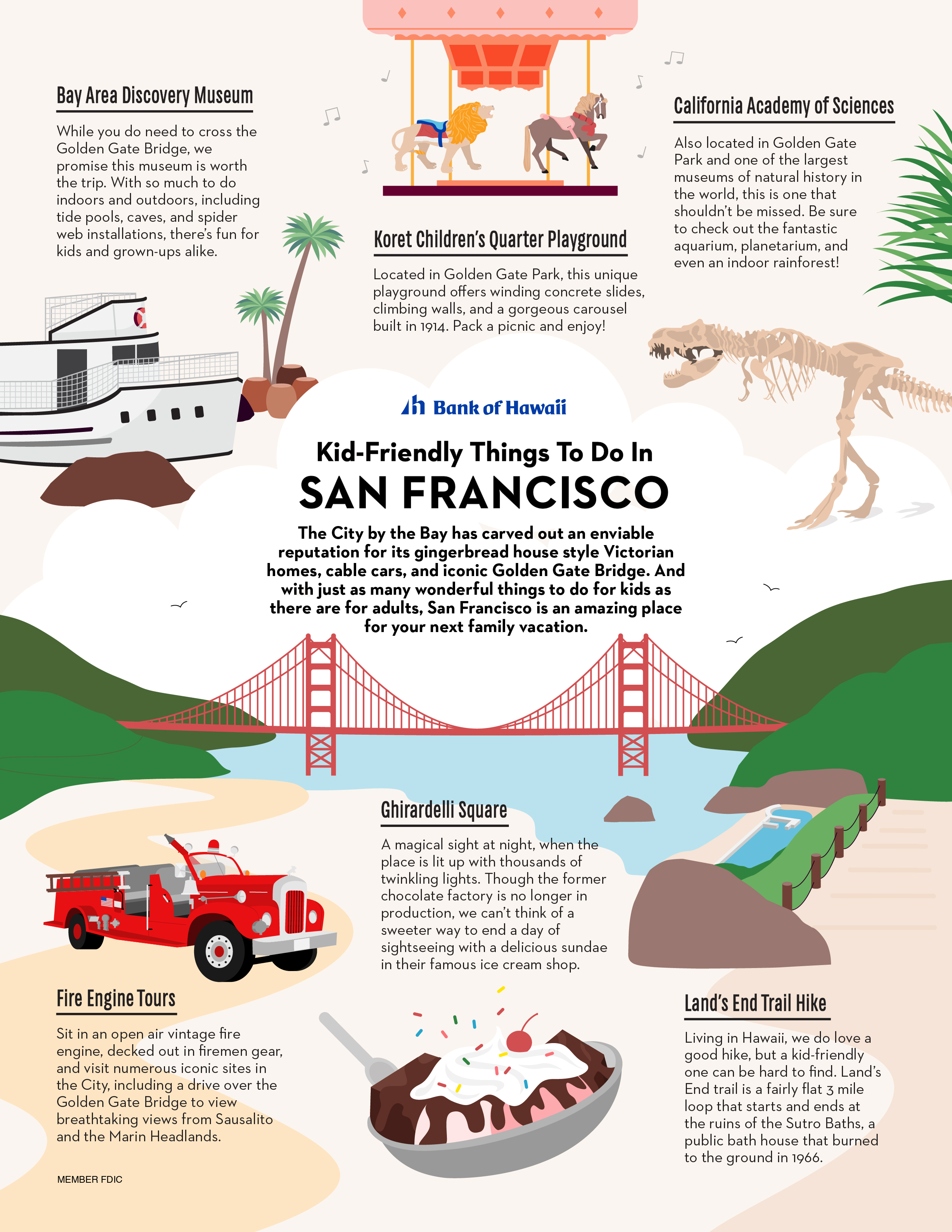 Kid-Friendly Things To Do In San Francisco Infographic