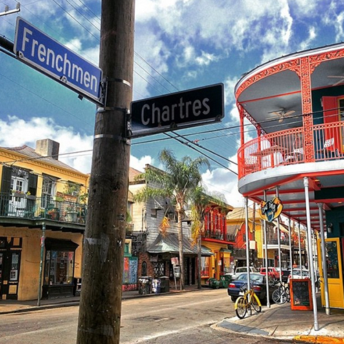 Visit New Orleans Instagram picture.