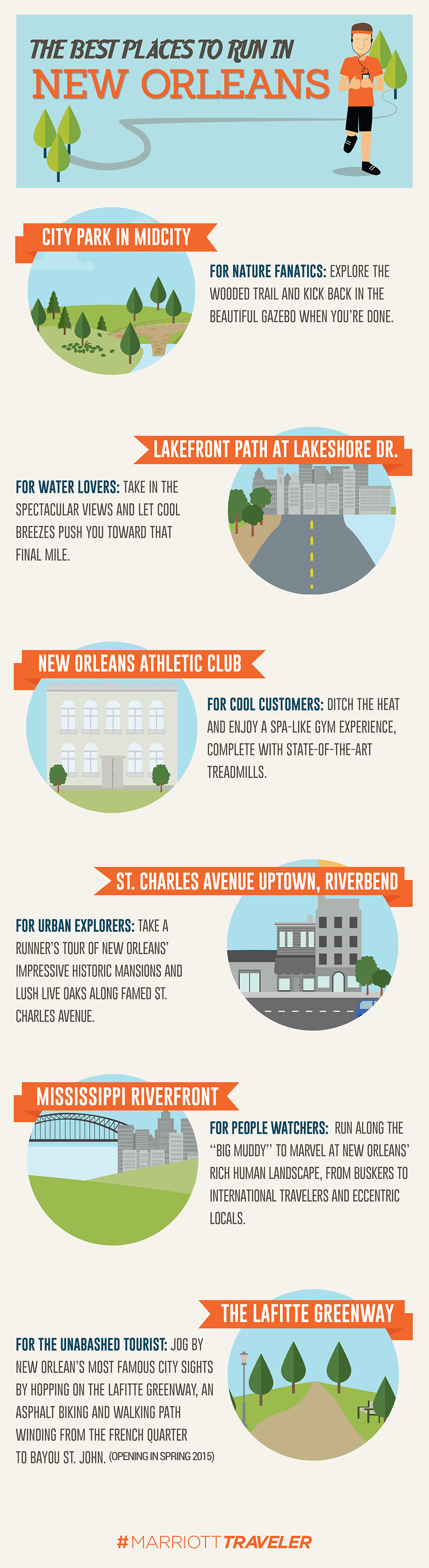 best places to run in new orleans