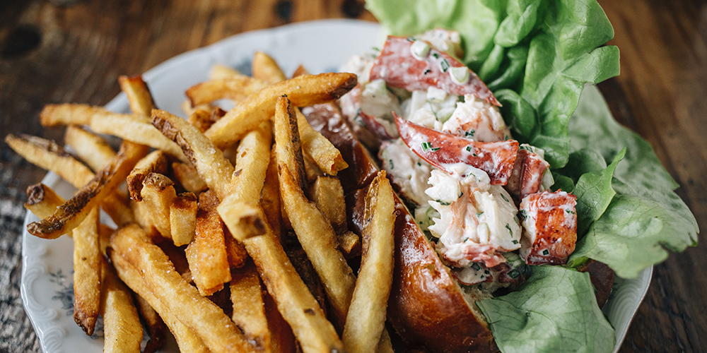Lobster Roll at Dusek's Board and Beer (Photo: Courtesy Dusek's)