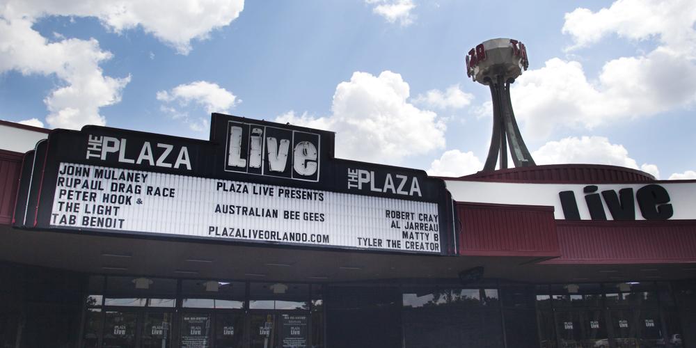 The Plaza Live.