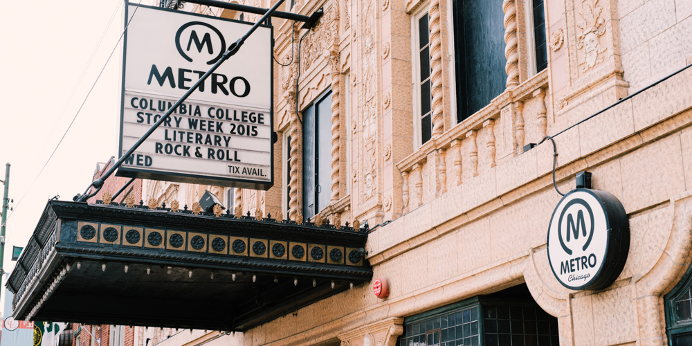 Metro music venue in Chicago.
