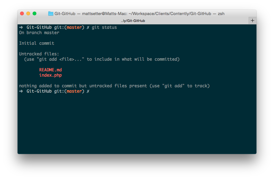how to git add all untracked files