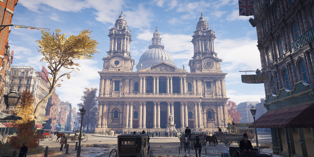 "The final version of St. Paul's Cathedral in ""Assassin's Creed: Syndicate"" (Photo courtesy of Ubisoft)"