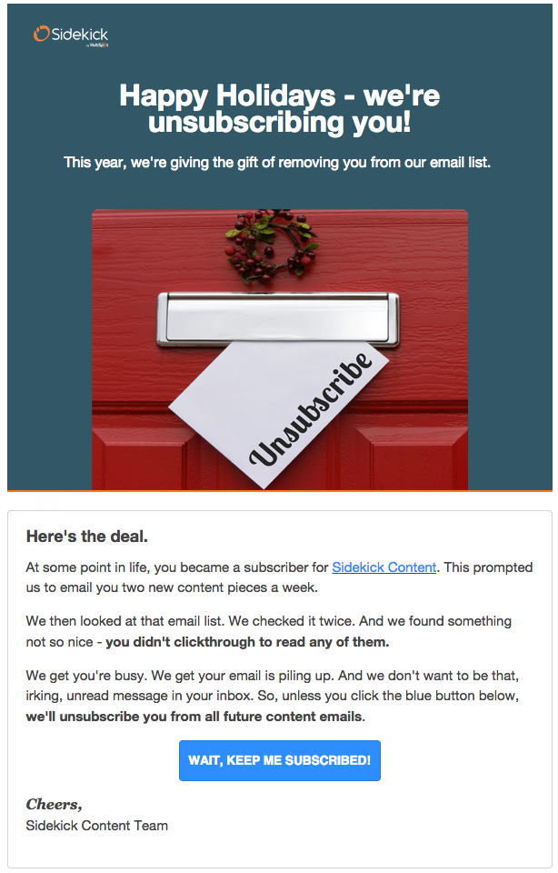 8 Great Unsubscribe Pages That Will Make You Love Email Again