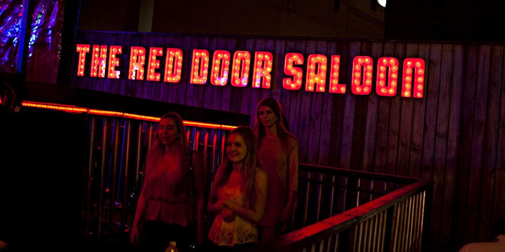 The Red Door Saloon in Nashville.