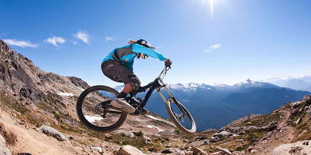 Whistler mountain bike